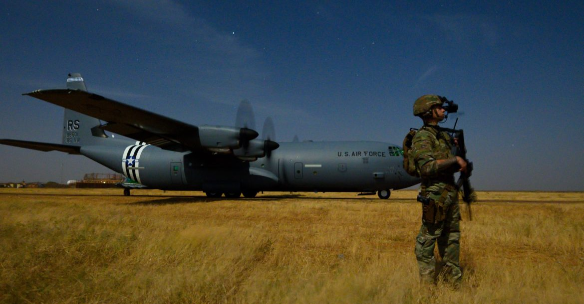 US C-130J in Somalia