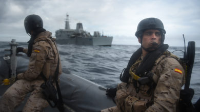 Spanish VBSS Approaches Moroccan Ship, Phoenix Express 2019
