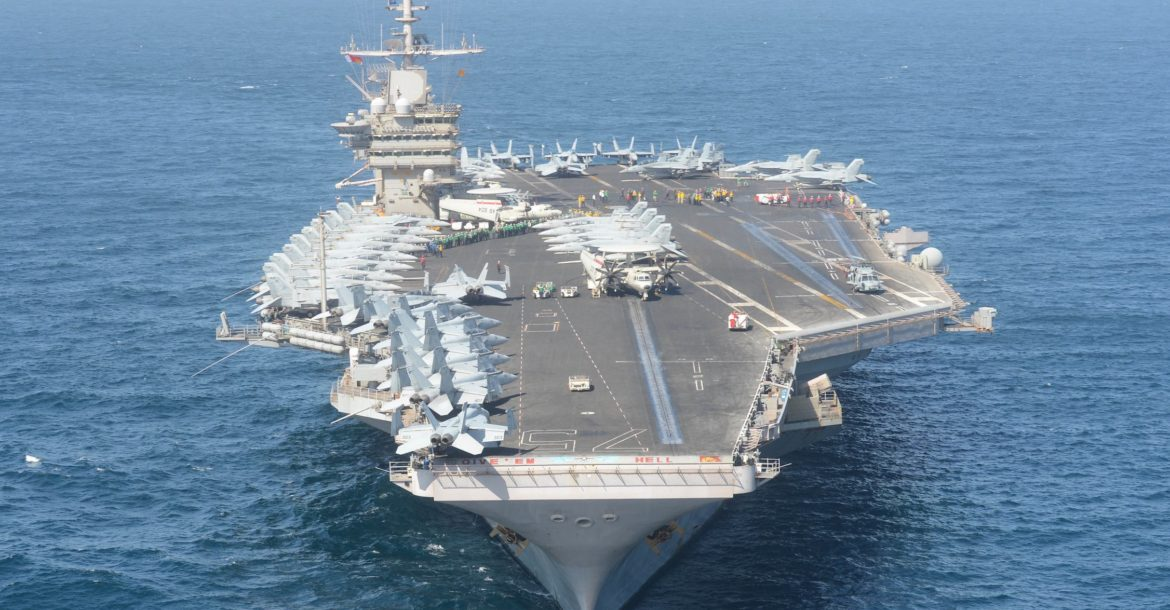 USS Harry S. Truman aircraft carrier