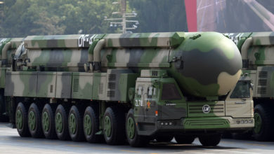 Dongfeng-41 intercontinental strategic nuclear missiles group China