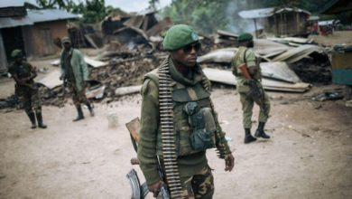DR Congo soldier, February 2020