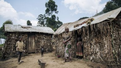 Village in DR Congo.