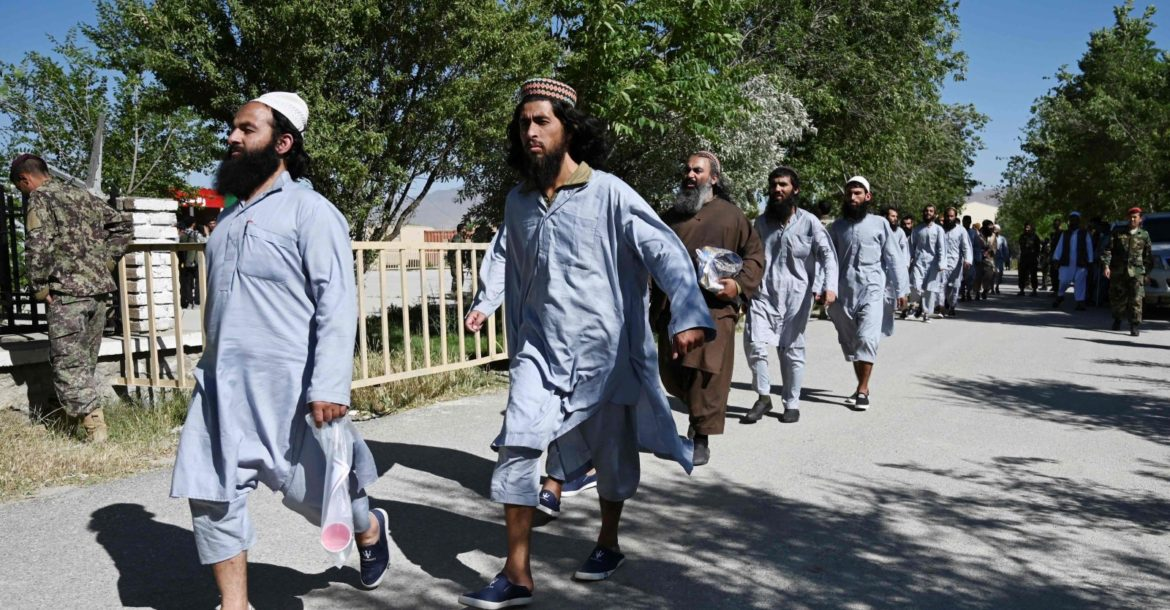 Freeing of Taliban prisoners from Bagram prison