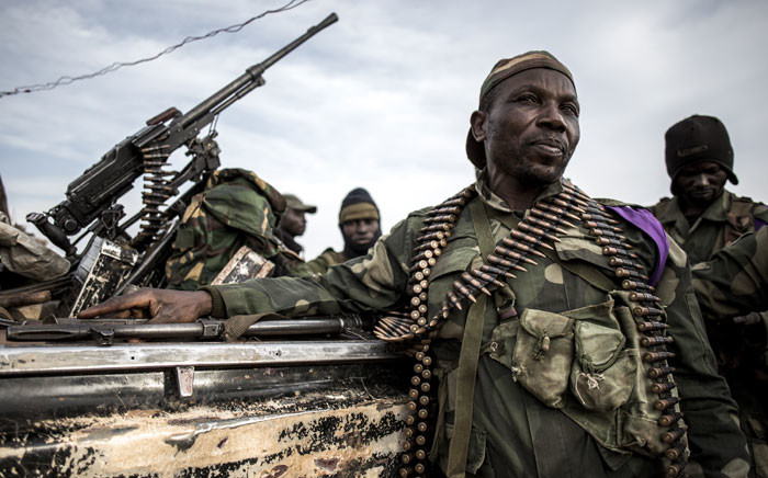 DR Congo soldiers.