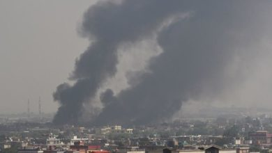 File photo: smoke rises from the site of an attack after a massive explosion the night before near the Green Village in Kabul on September 3, 2019