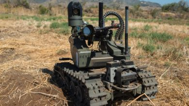 A US military Modular Advanced Armed Robotic System