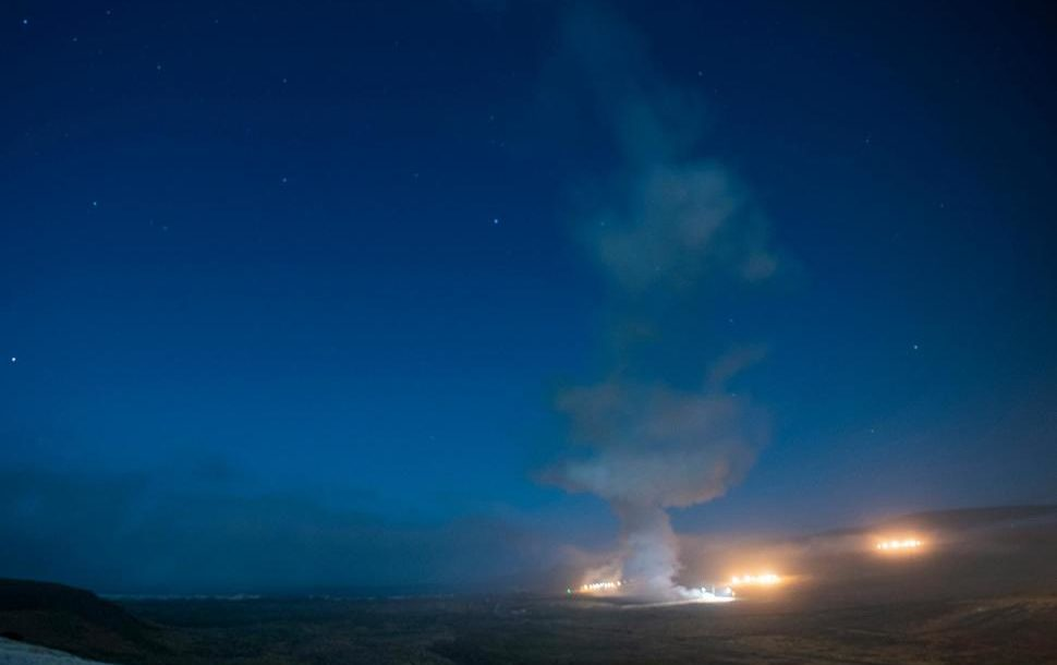 An Air Force Global Strike Command unarmed Minuteman III intercontinental ballistic missile launches during an operational test at 12:21 a.m. Tuesday, Aug. 4, 2020 at Vandenberg Air Force Base, California