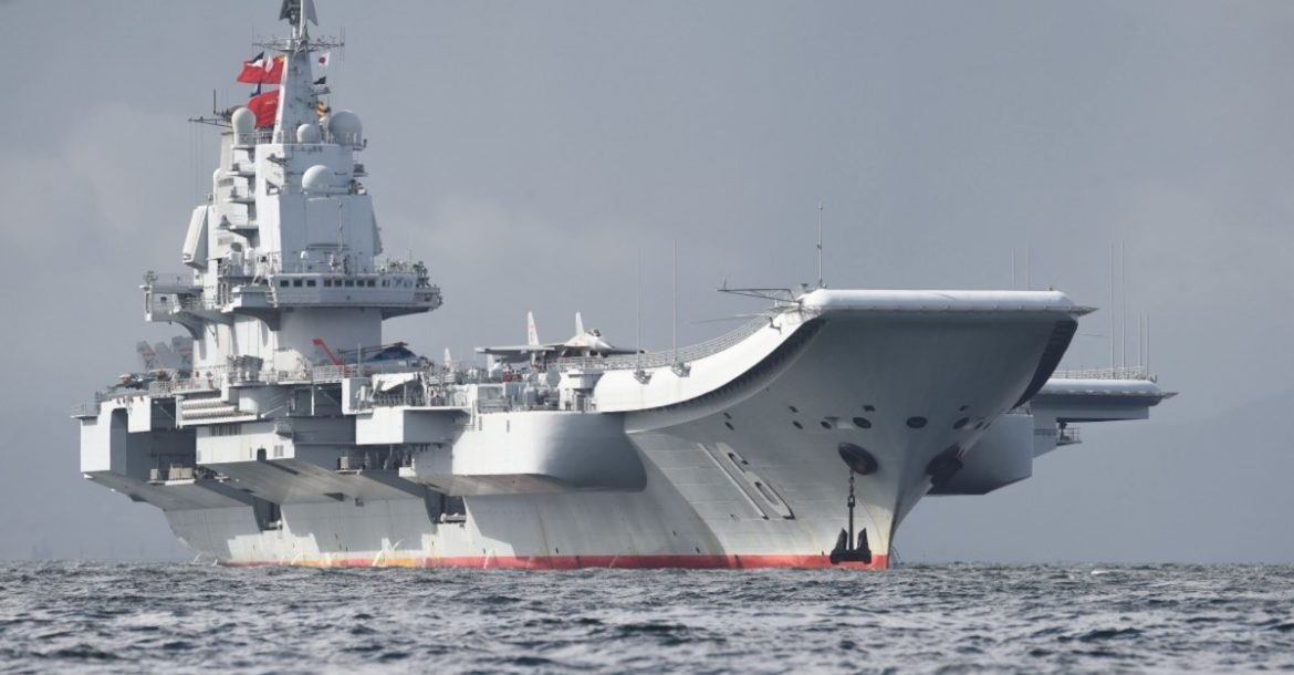 Chinese aircraft carrier the Liaoning has a big role in the Chinese military's plan to unify Taiwan by force.