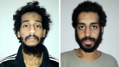 Mugshots of the jihadi Beatles.