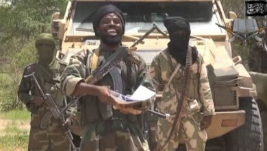 Abubakar Shekau, the group's leader, taken from a video last July 2014.