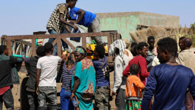 Thousands of Ethiopians have fled to neighboring Sudan to escape the conflict in Tigray.