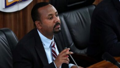 The Prime Minister of Ethiopia, Abiy Ahmed.