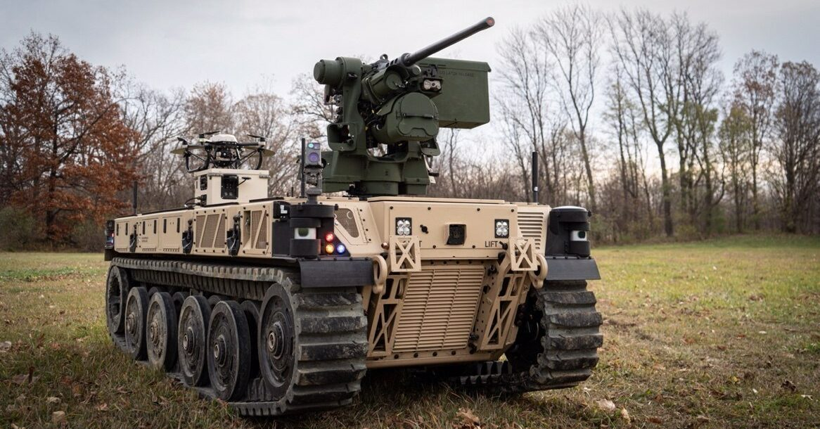 The RCV-L is a purpose built Unmanned Ground Combat Vehicle