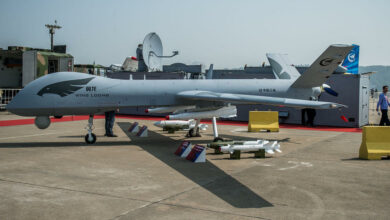 Chinese-made Wing Loong II unmanned combat drone