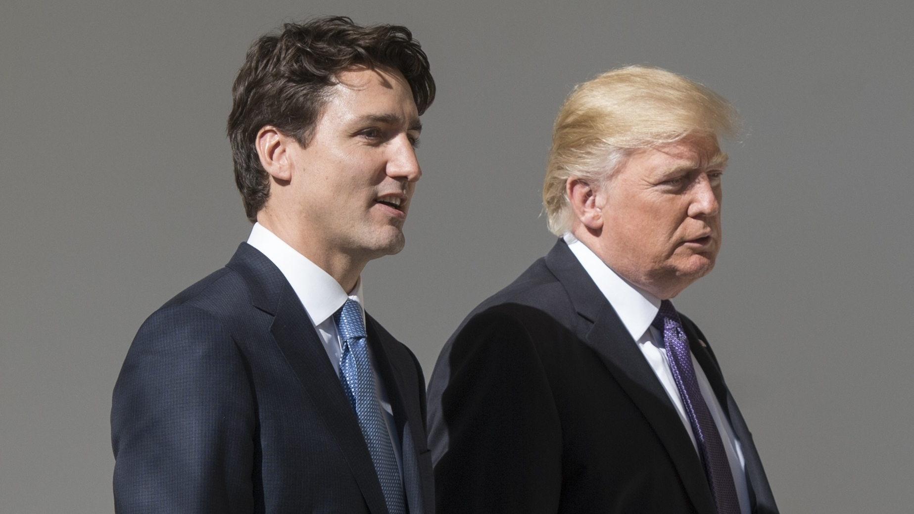 President Trump and Canadian Prime Minister Justin Trudeau