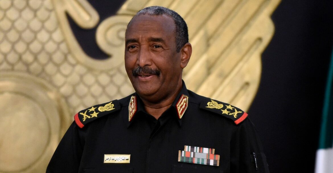 General Abdel Fattah al-Burhan, who heads Sudan's armed forces and the Sovereign Council.