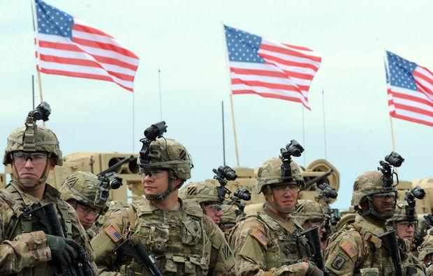 Photo of US soldiers