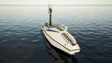 Long Range Unmanned Surface Vessel.