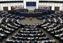 European Parlimentary During a Meeting