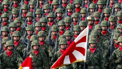 Japanese Special Defense Forces in a file photo.