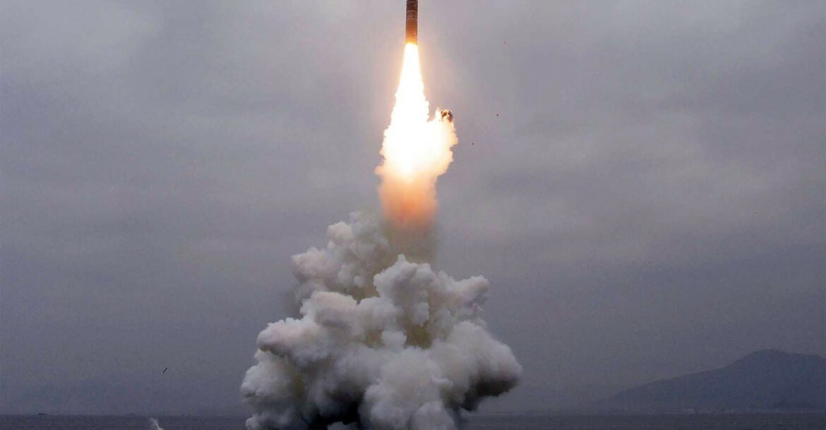 Ballistic missile launched