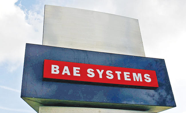 n a file photo taken on October 1, 2009 a BAE Systems plant is pictured in Warton near Preston, north-west England.