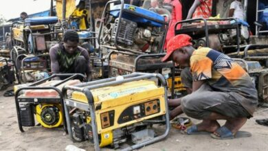 Power generators are in full use in Nigeria's Maiduguri where a jihadist attack cut power to the city for a week