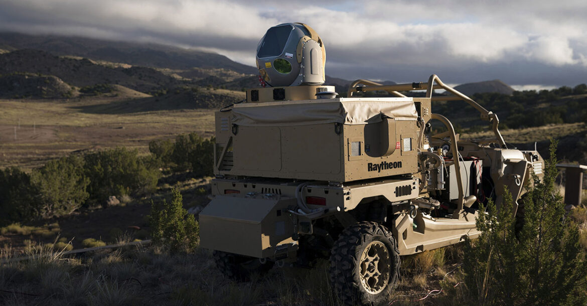 Raytheon's mobile high energy laser