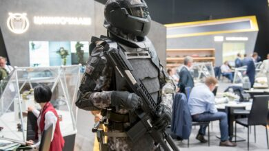Rostec's next-gen Sotnik battle armor.
