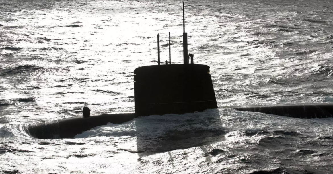 Nuclear attack submarine SNA Emeraude (shown in this file picture) was one of the two French navy ships to patrol through the South China Sea.