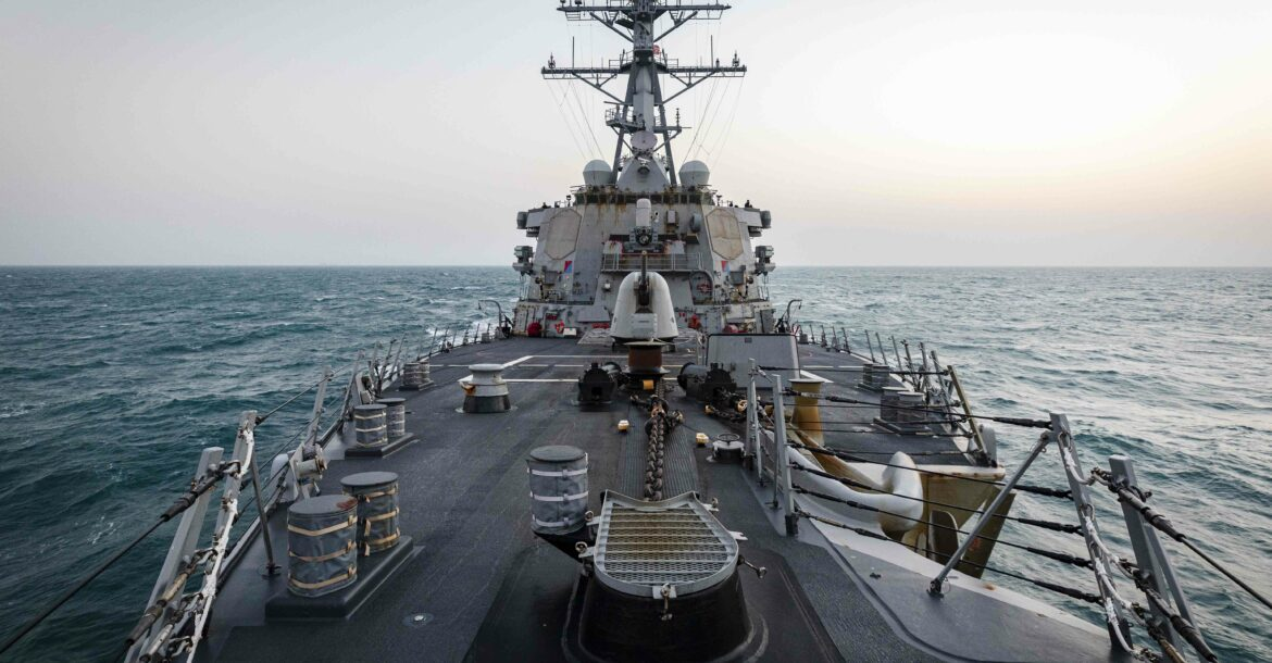 The Arleigh Burke-class guided-missile destroyer USS John S. McCain (DDG 56) is conducting routine underway operations in support of stability and security for a free and open Indo-Pacific. McCain is forward-deployed to the U.S. 7th Fleet area of operations in support of security and stability in the Indo-Pacific region.