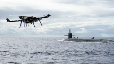 submarine launched unmanned aerial vehicle