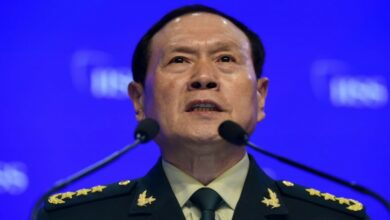 Chinese defense minister General Wei Fenghe.