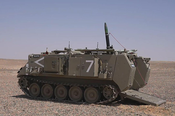 Israel Iron Sting laser-guided mortar system