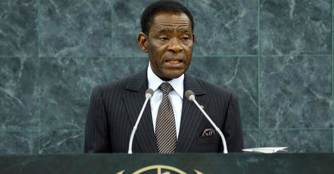 Teodoro Obiang Nguema Mbasogo, President of the Republic of Equatorial Guinea, addresses the 13th plenary meeting of the 68th session of the General Assembly, General Debate