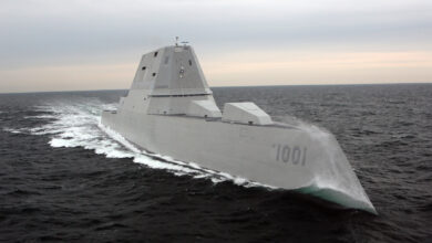 USS Michael Monsoor, US Navy's Zumwalt-class guided-missile destroyer.