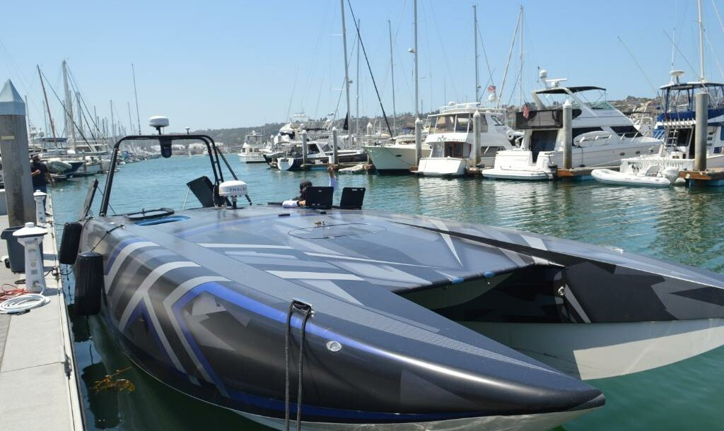 MANTAS T38 Devil Ray unmanned surface vehicle