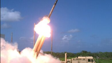 Terminal High Altitude Area Defense, or THAAD interceptor