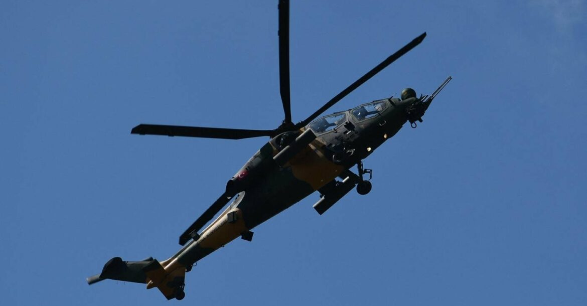T129 Tactical Reconnaissance and Attack Helicopter