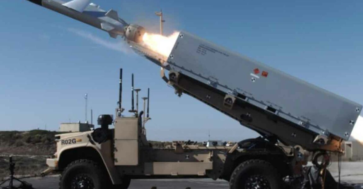 missile launched from an unmanned vehicle