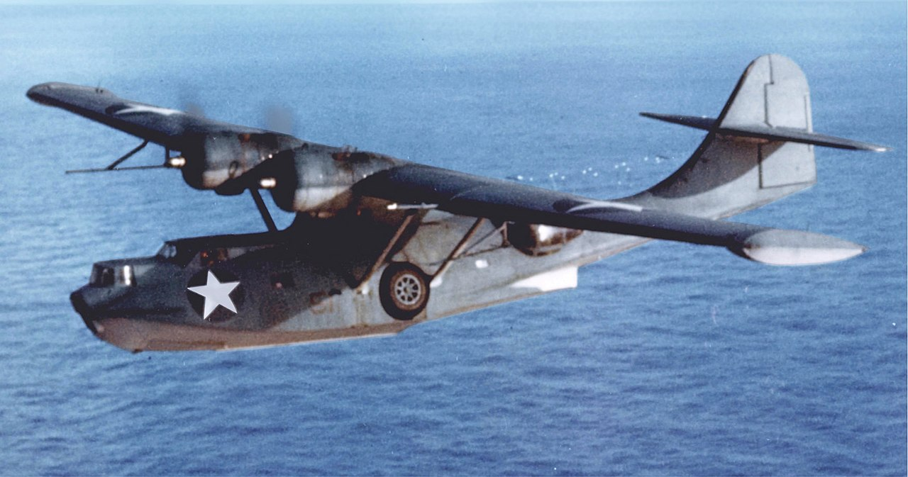 Consolidated PBY-5A Catalina in flight