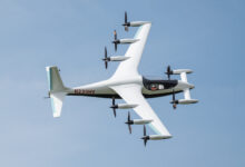 electric vertical takeoff and landing