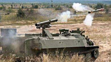 Barrier-S anti-tank missile system