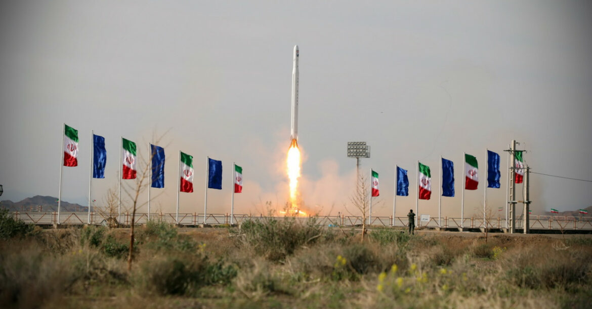 An Iranian military satellite — dubbed the Nour — was launched in April 2020
