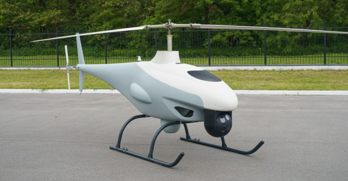 Ramzay's RZ-500 helicopter drone