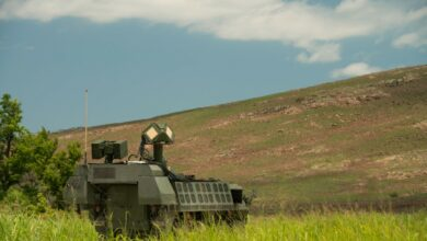 Laser-equipped Stryker