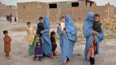 Afghan women and children in Herat, Afghanistan