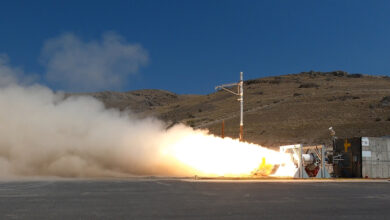 Navy Strategic Systems Programs tests the Second Stage Solid Rocket Motor