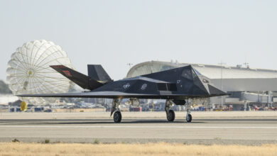 144th Fighter Wing Welcomes F-117s