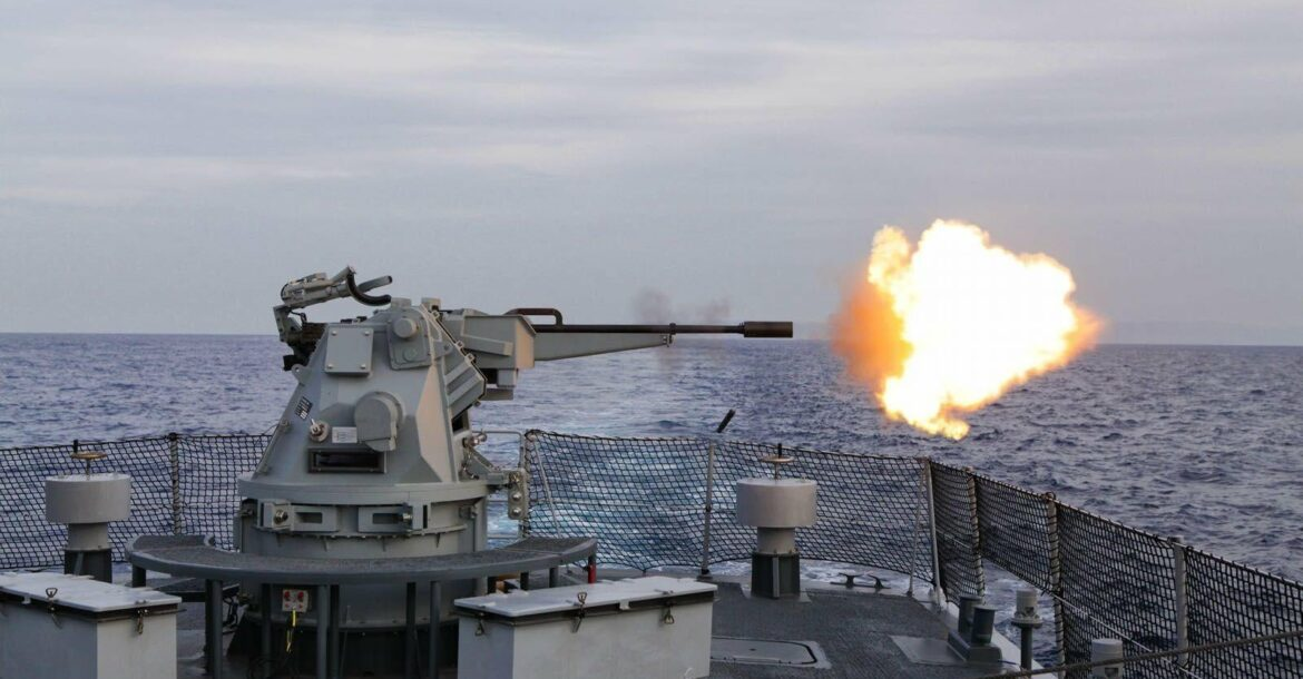 The Typhoon is a stabilized, remotely-controlled weapon system for naval ships developed by Rafael.
